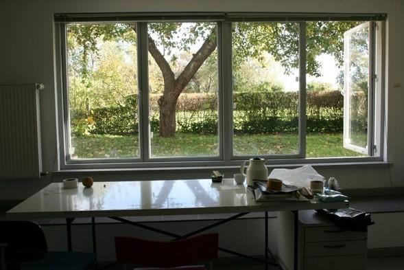 사과나무가 보이는 작업실