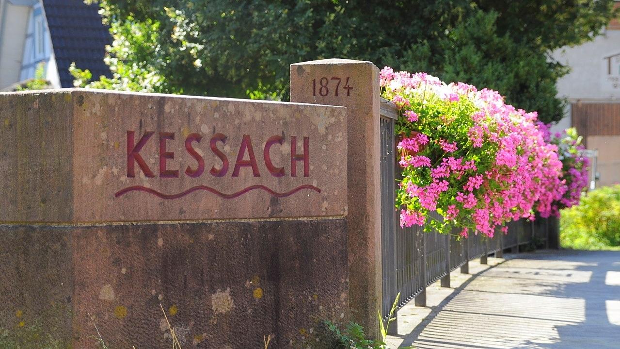 Brücke über die Kessach
