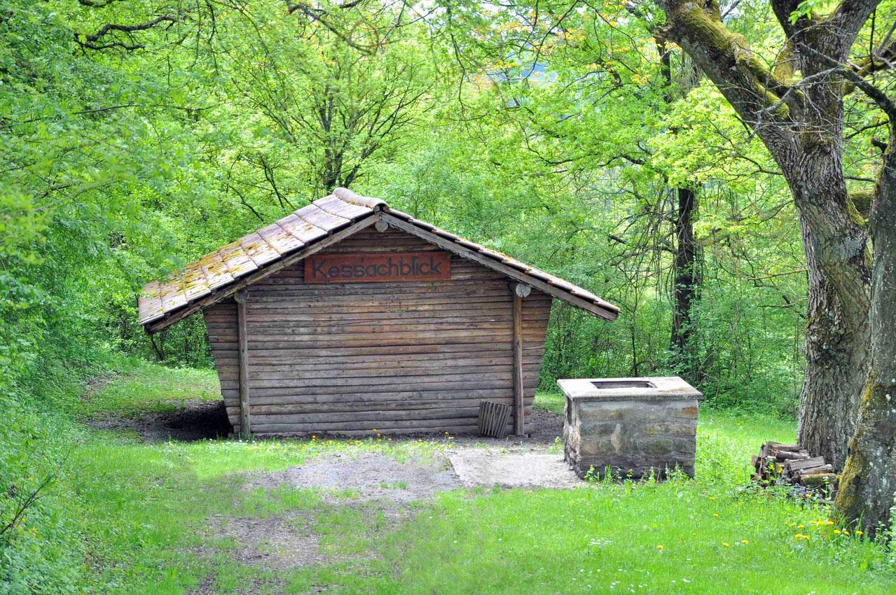 Grillhütte Kessachblick