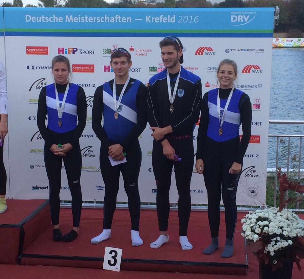 Bronze JM/F A 4x  Sina, Gabriel, Till, Ann-Kathrin