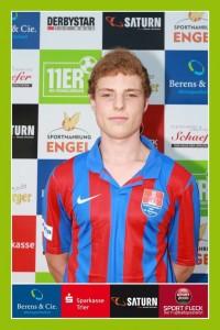 Tim Höfer, 22 kënnt vun der DJK St. Mathias Trier (Photo: fupa.net)