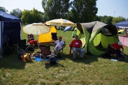 Das Lager der Österreicher