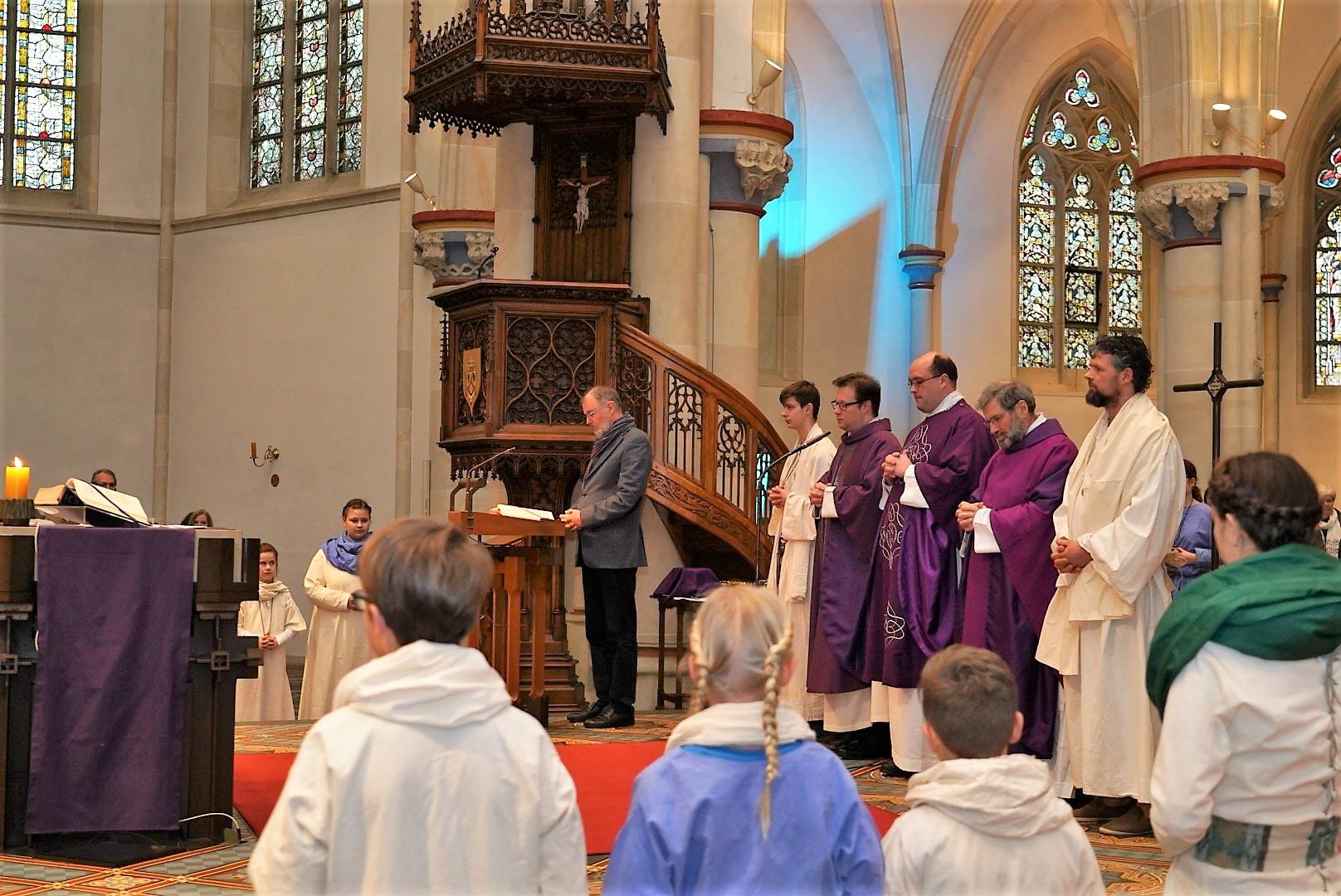 Die Geistlichen - Pastor Jochen Kosmann, Pastor Ulrich Liehr, Pastor Dr. Gerhard Best