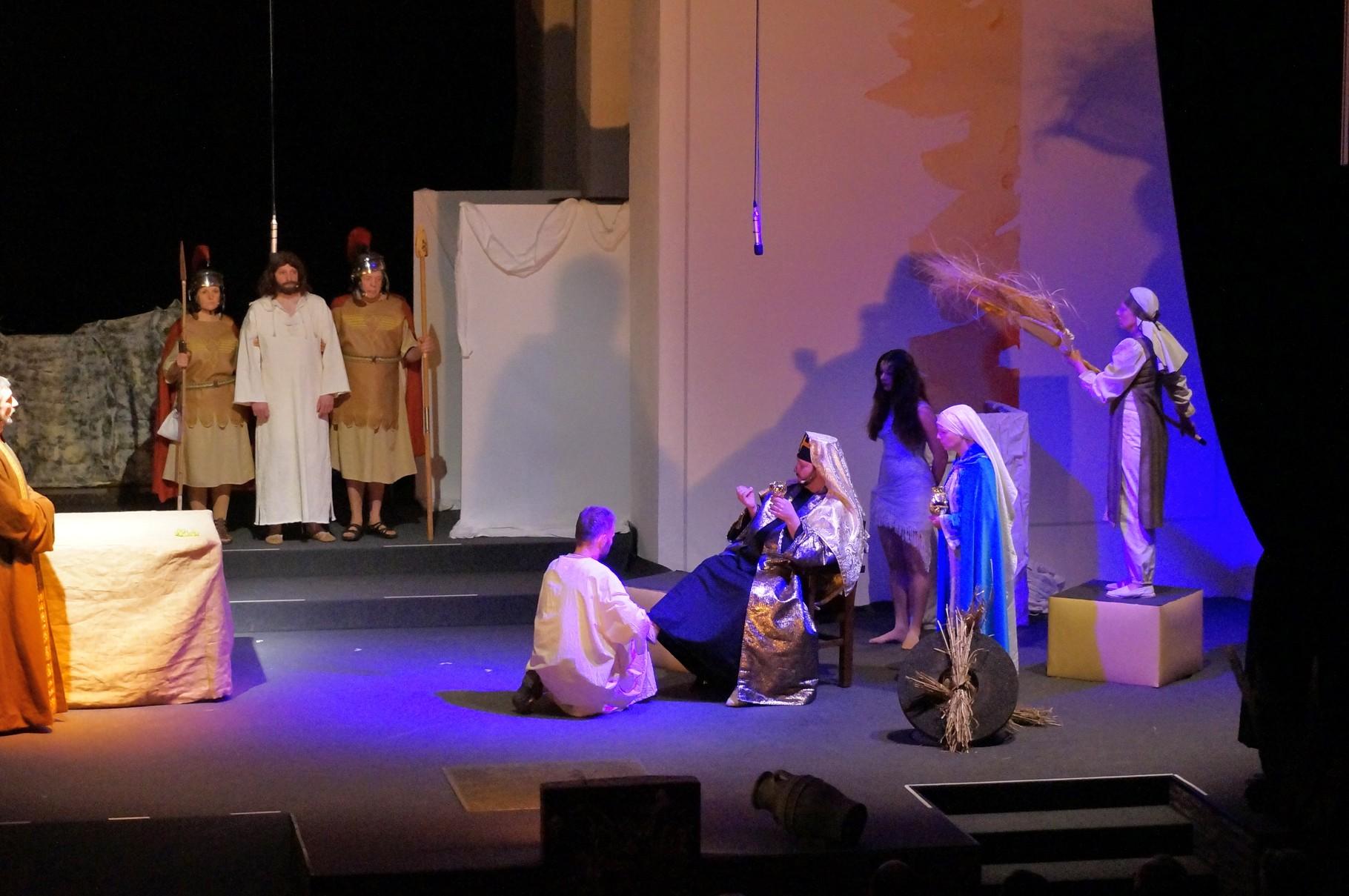 Jesus vor König Herodes