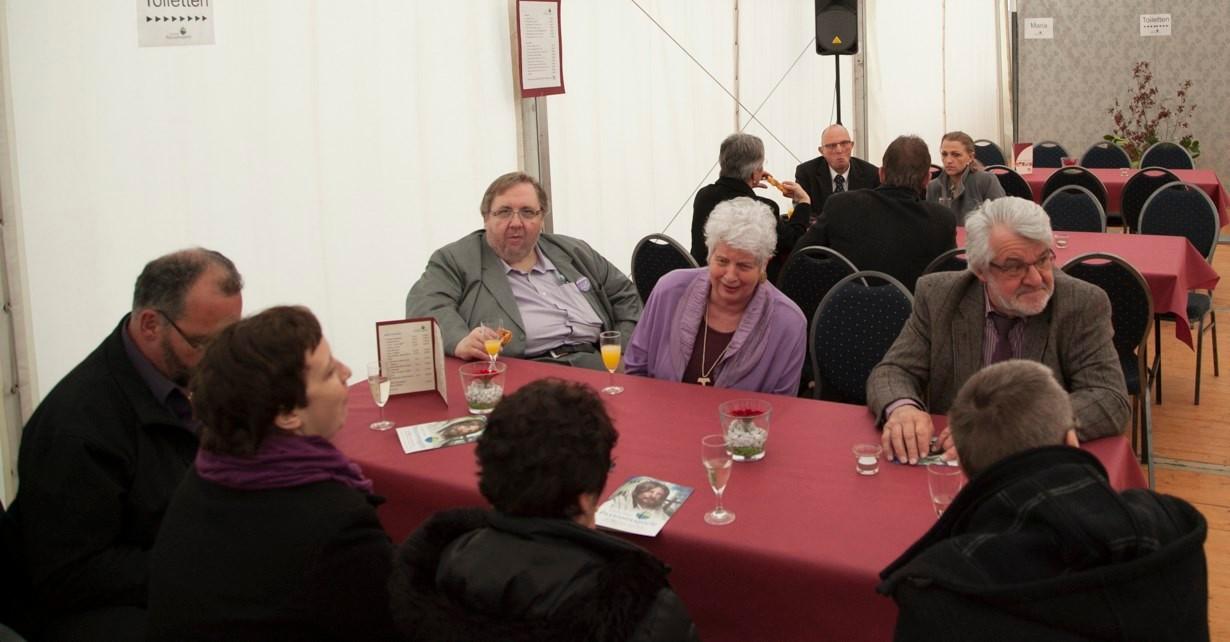 Gäste aus Wintrich und Sömmersdorf