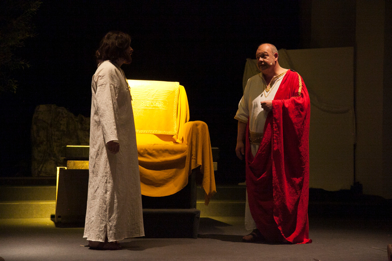 Jesus vor Pontius Pilatus