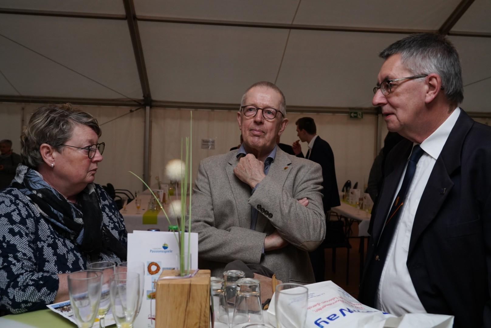 Vertreter der EuroPassion, u.a. Lex Houba