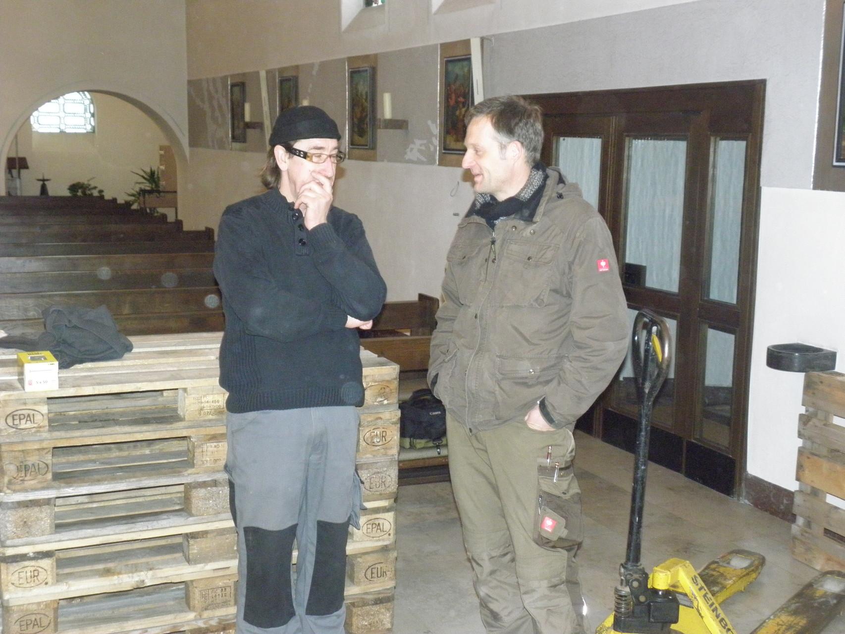 Markus Loesmann und Klaus Herold