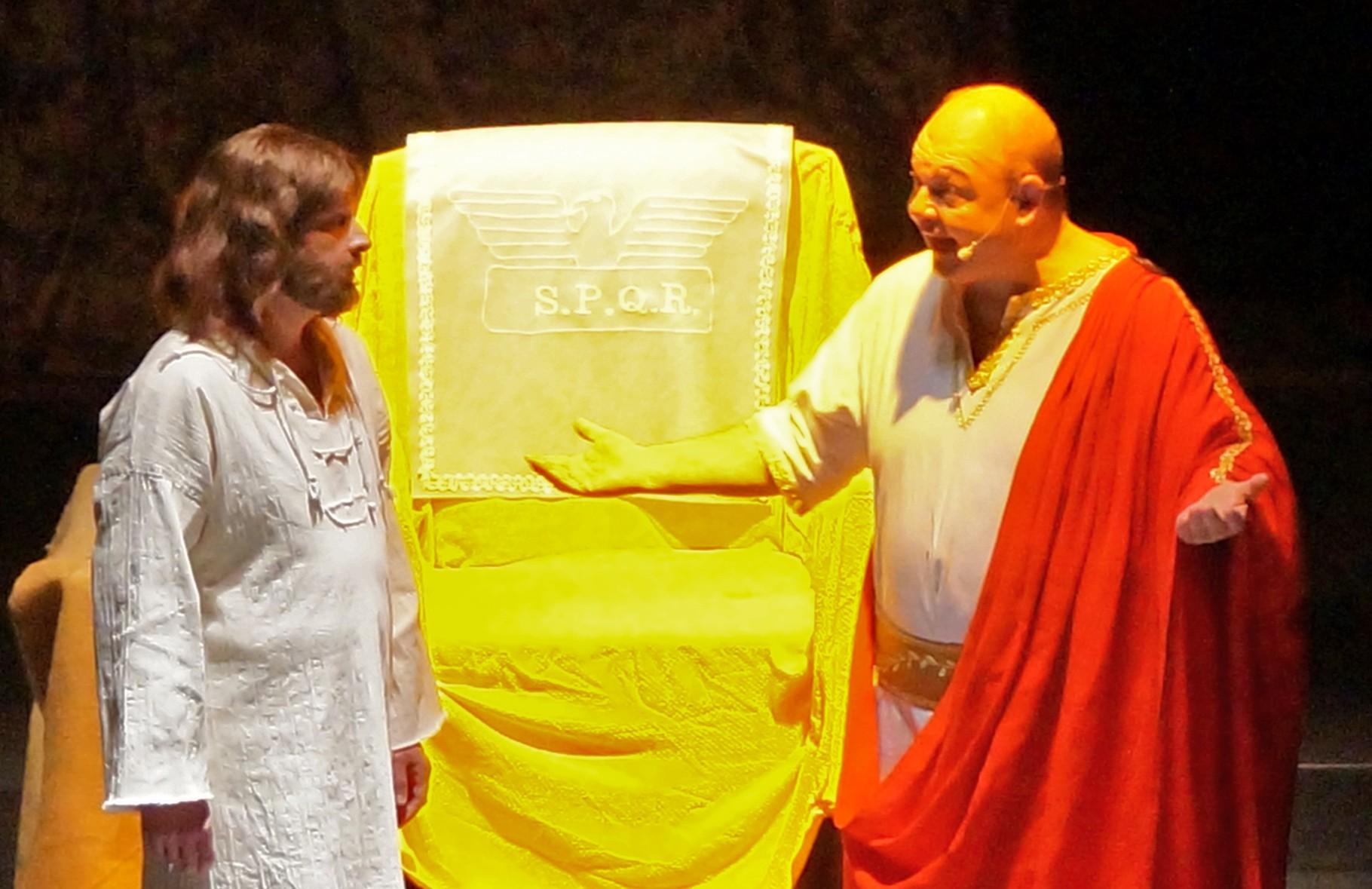 Jesus vor Pilatus