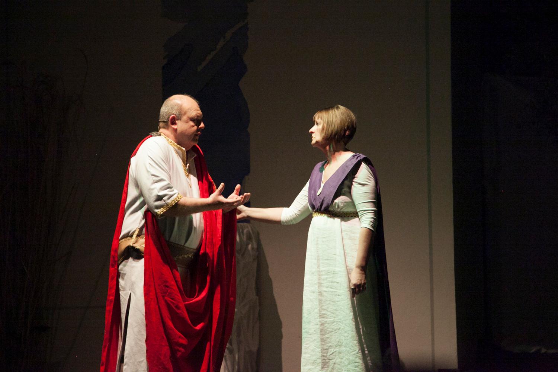Pilatus und Claudia, seine Frau - Beate Hoffmann