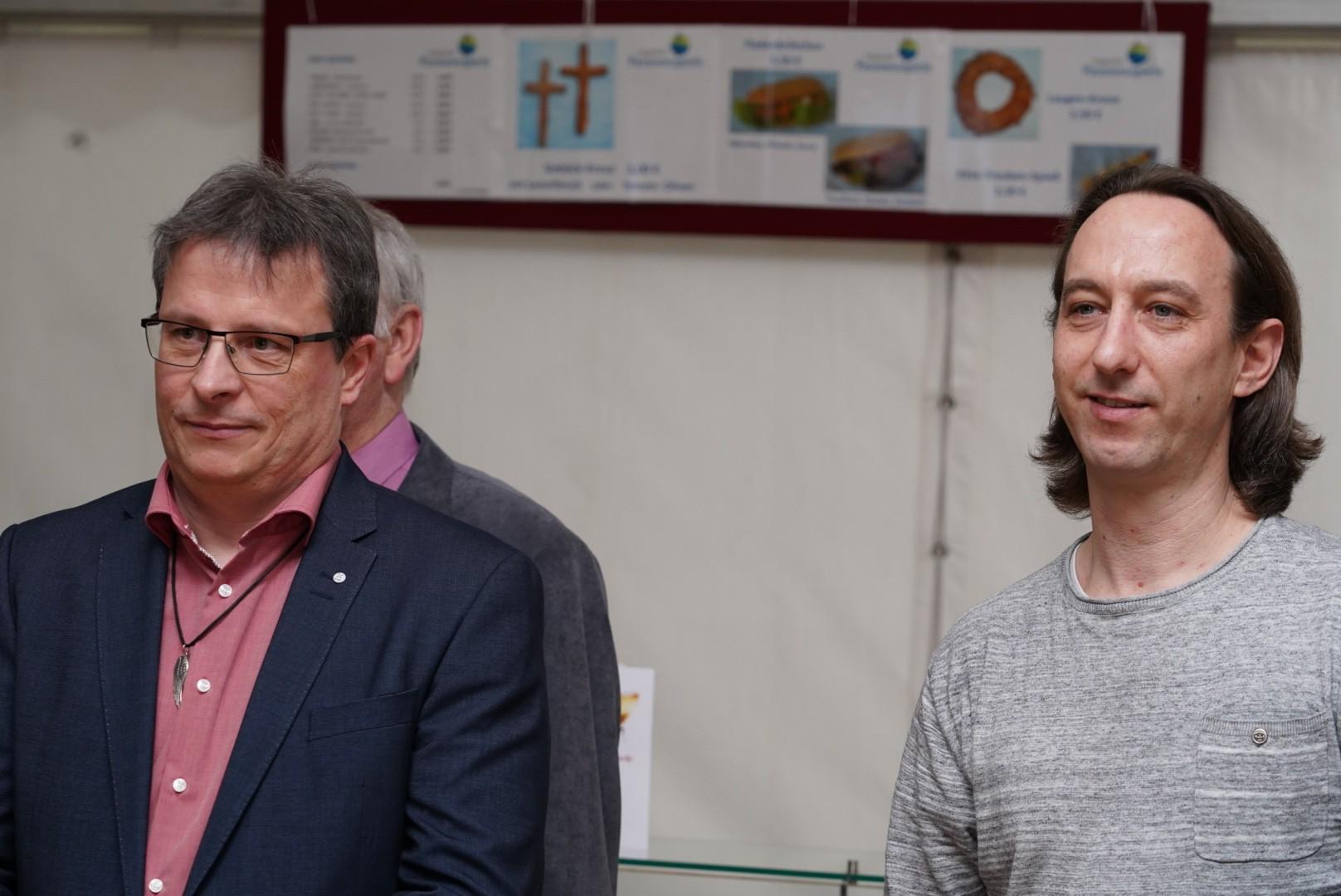 Regisseuer Wolfgang Lamminger und Ingo Euler