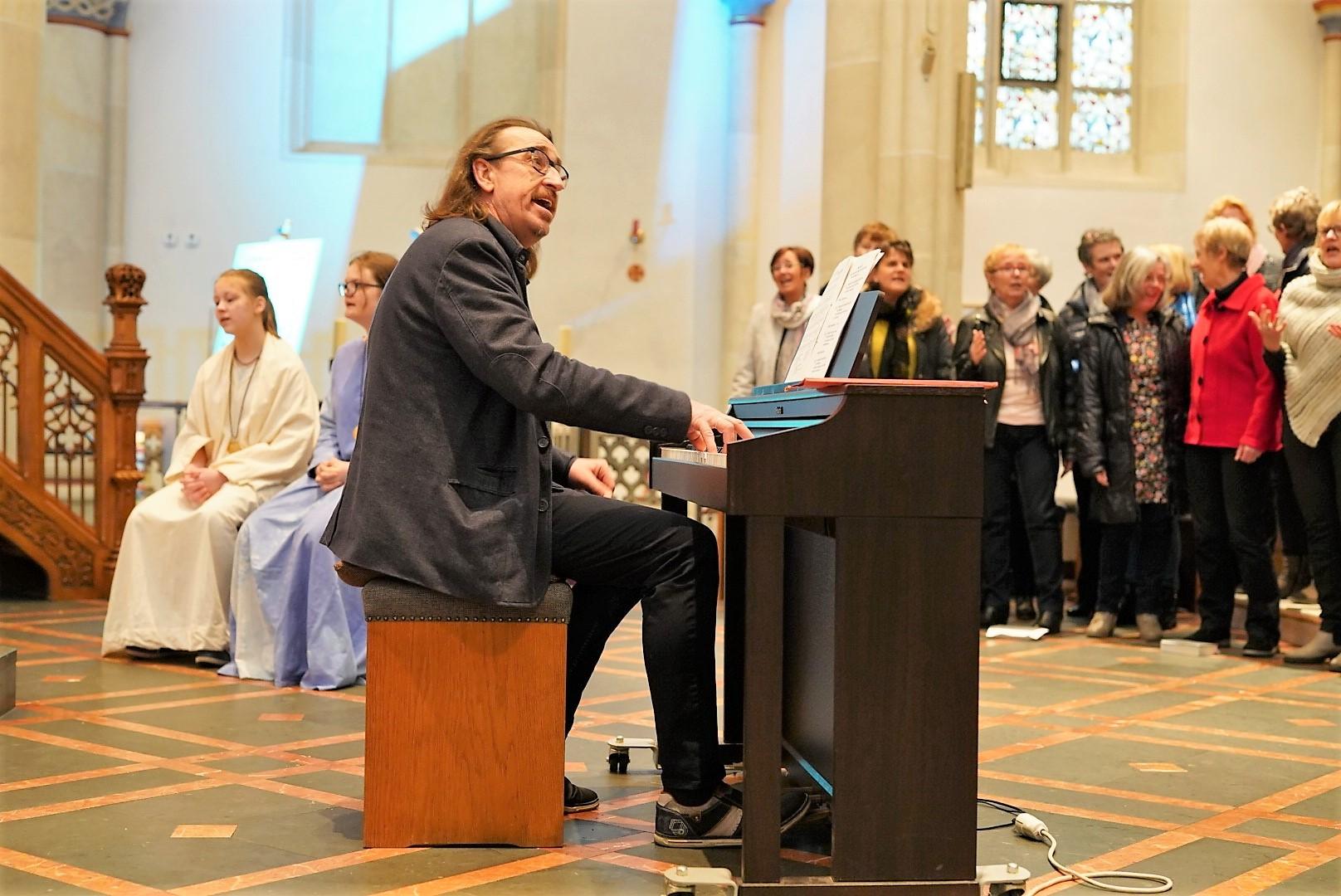 Markus Loesmann - musikalischer Leiter der Passion