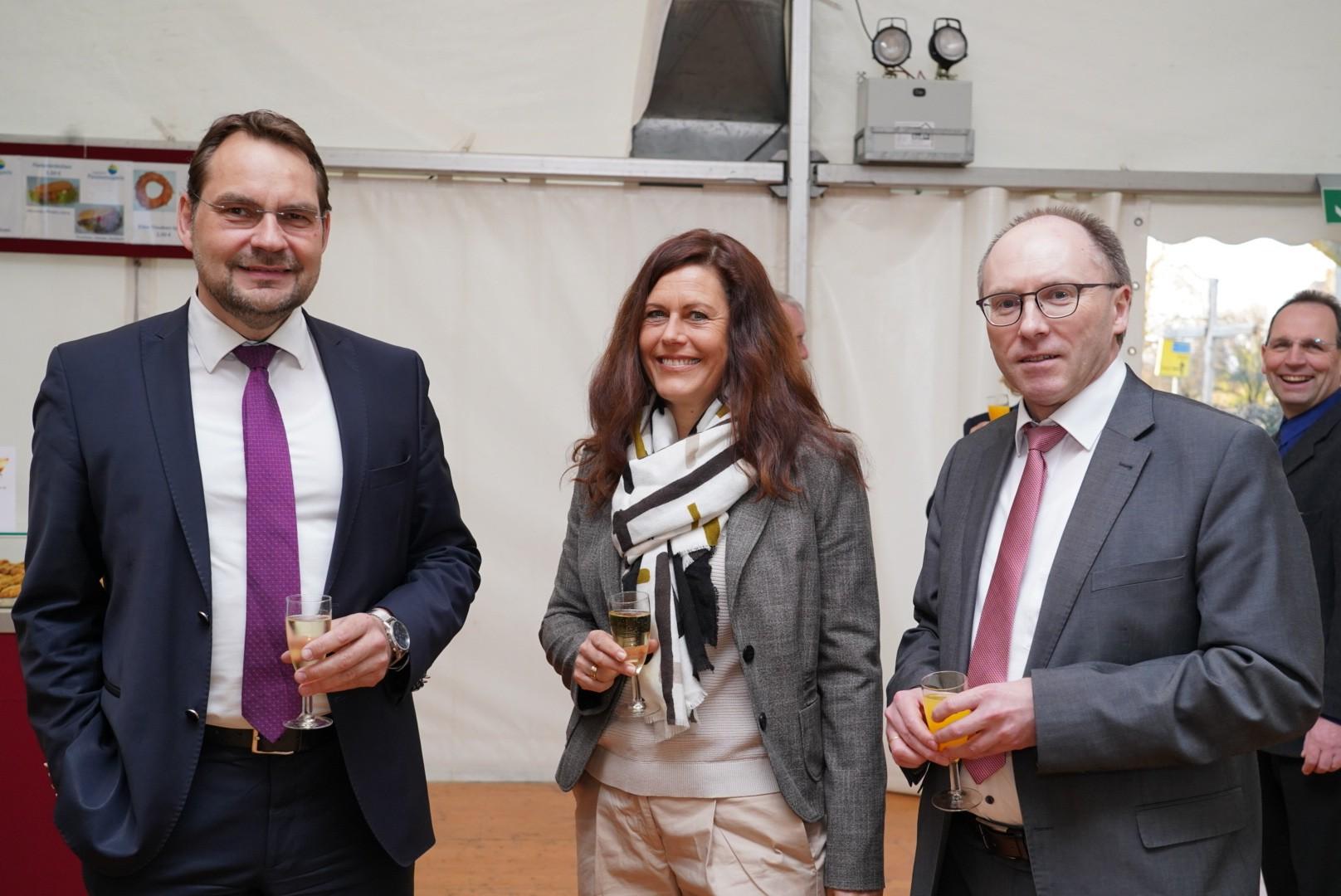 Vertreter der Sparkasse SoestWerl
