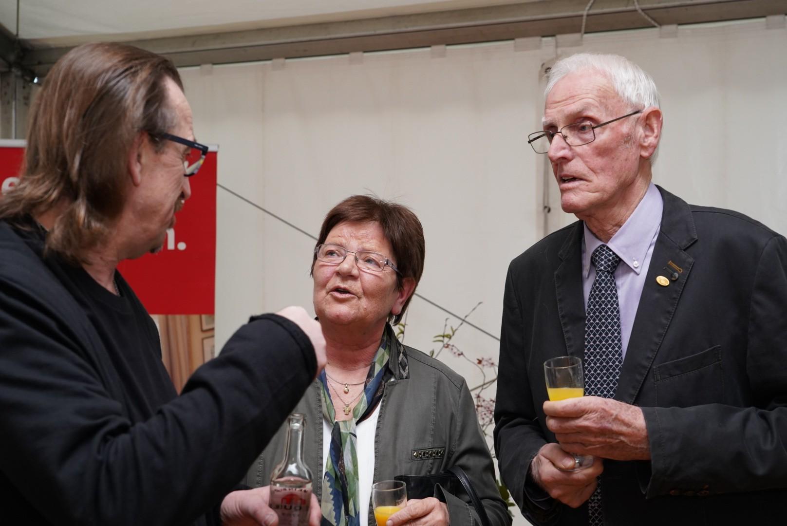 Markus Loesmann und Willi Arns und Frau