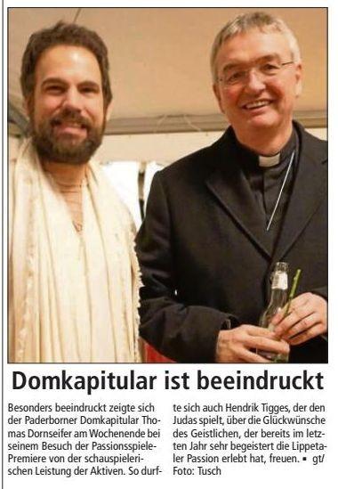 Bericht Soester Anzeiger v. 16.03.2015