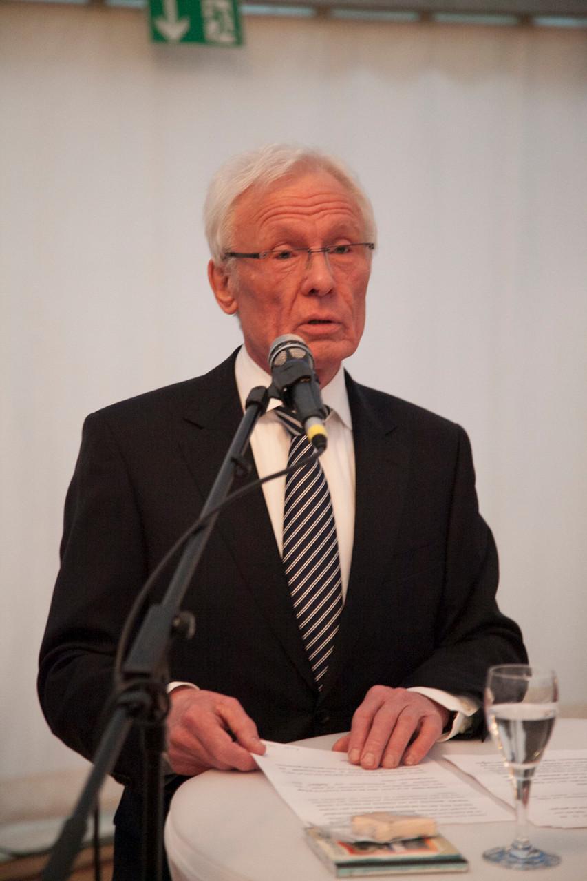 Begrüßung der Gäste - Erhard Susewind, 2. Vorsitzender