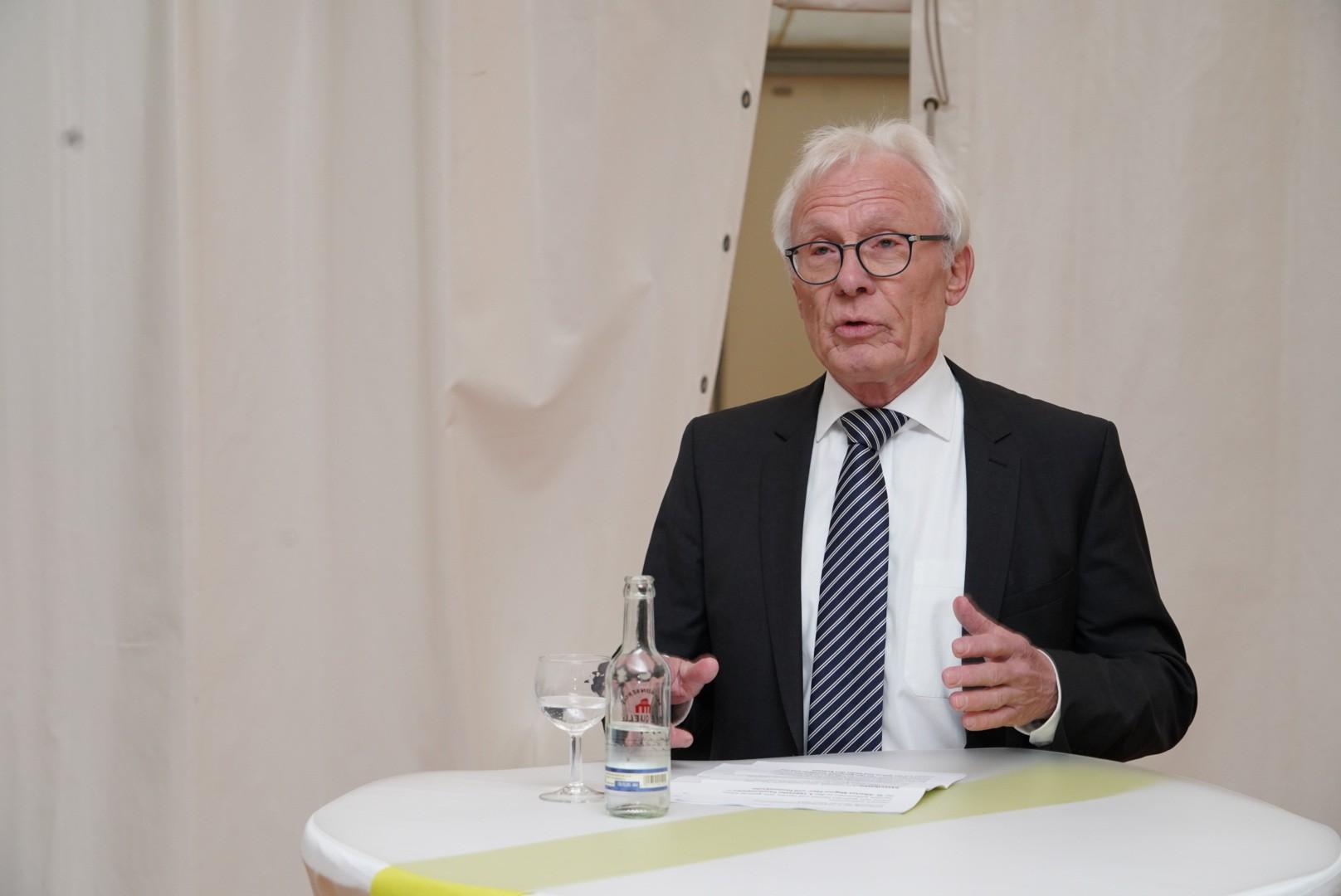 Begrüßung durch Erhard Susewind, 2. Vorsitzender