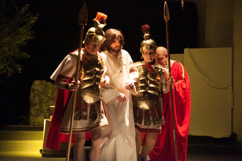 Jesus wird abgeführt zur Geißelung