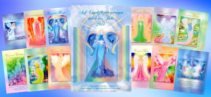Bilder vom Engelkalender 2014