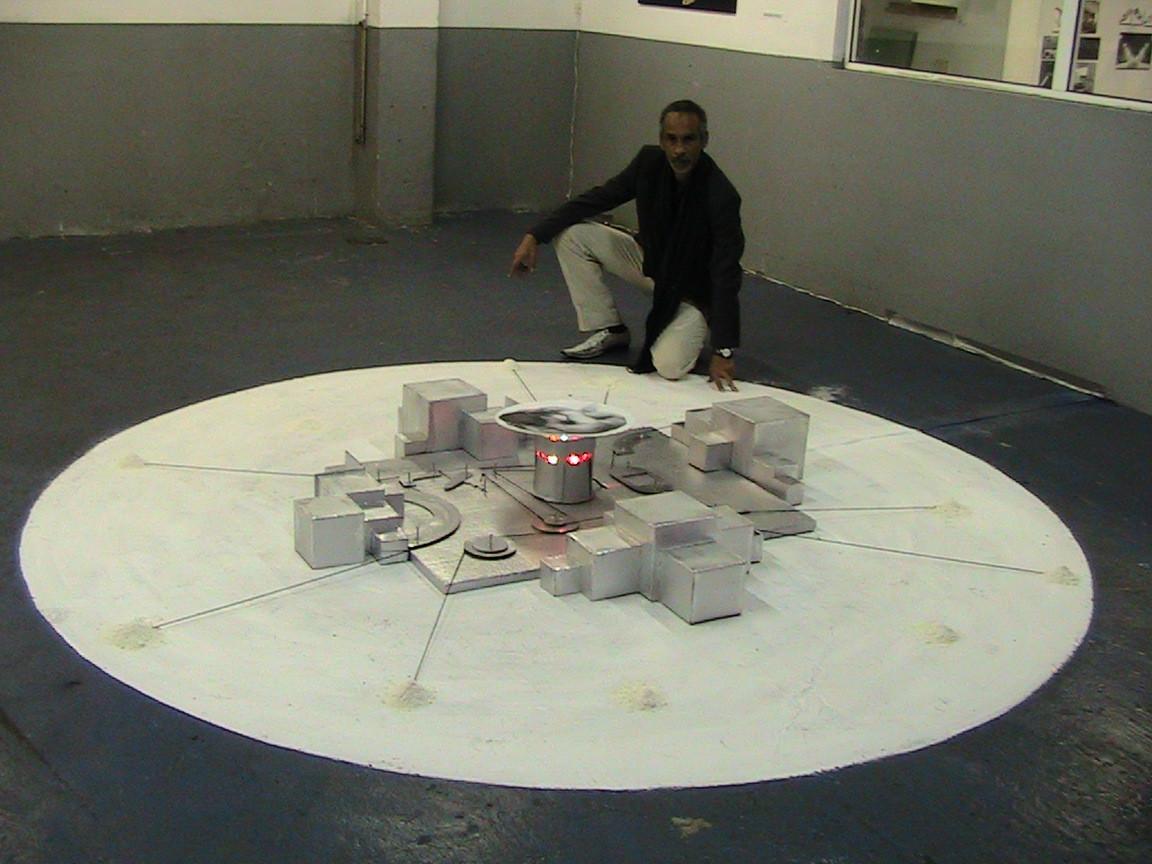 """""""El Nido"""" Instalación efímera. Las Palmas 2013"""