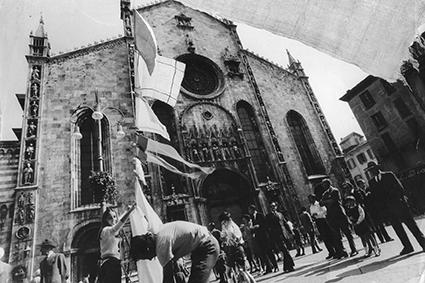 """Gianni Pettena, """"Campo Urbano"""", Como 1969."""