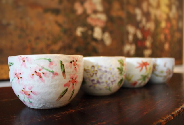 Connect to the seasons. Tea Cups for every season.