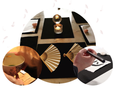 Summer offer for families with children - Experience Japanese Tea Ceremony, Calligraphy Meditation.