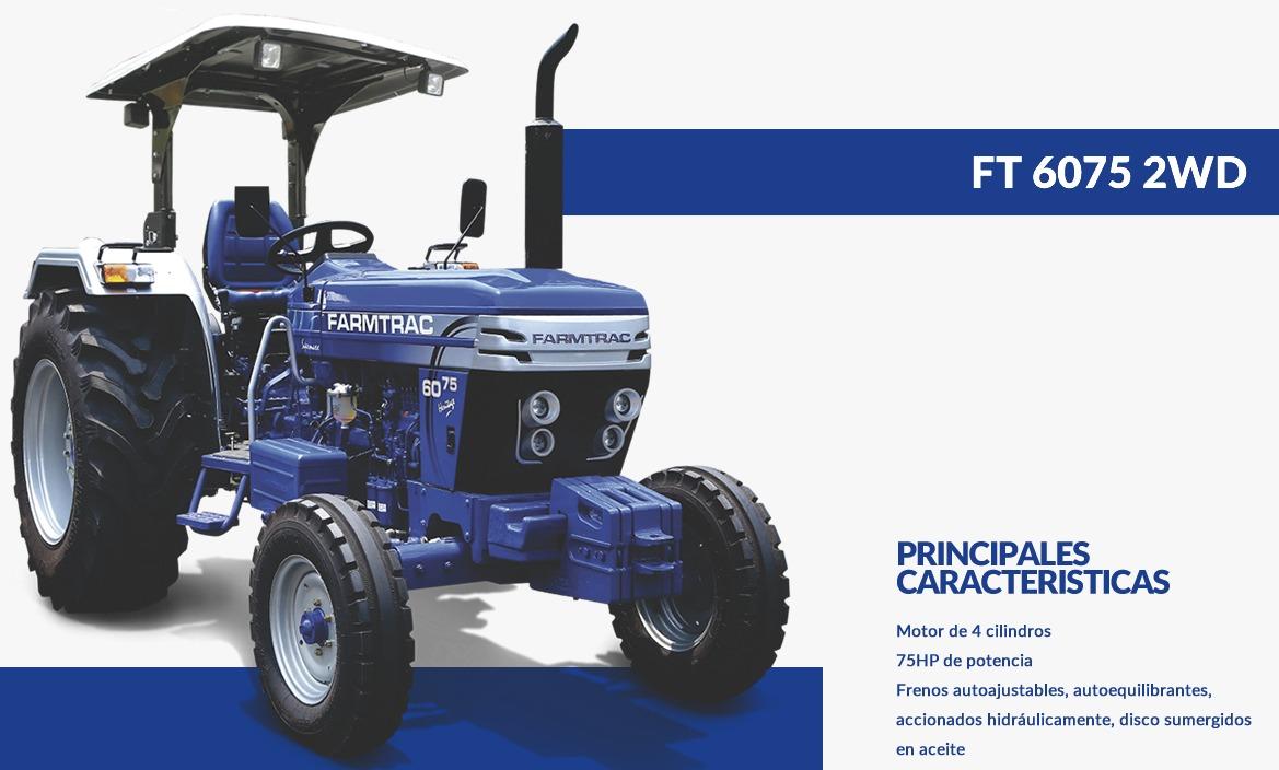 FARMTRAC-TRACTOR 6075 2WD