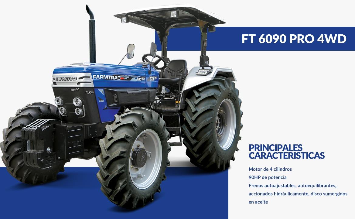 FARMTRAC-TRACTOR 6090 PRO 4WD
