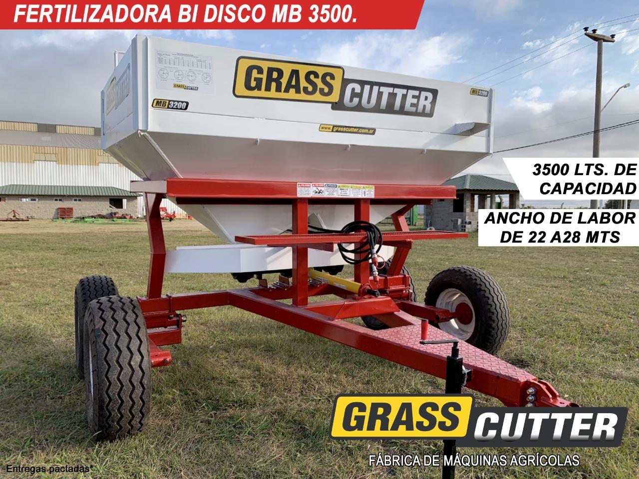 FERTILIZADORA GRASS-CUTTER MB 3500