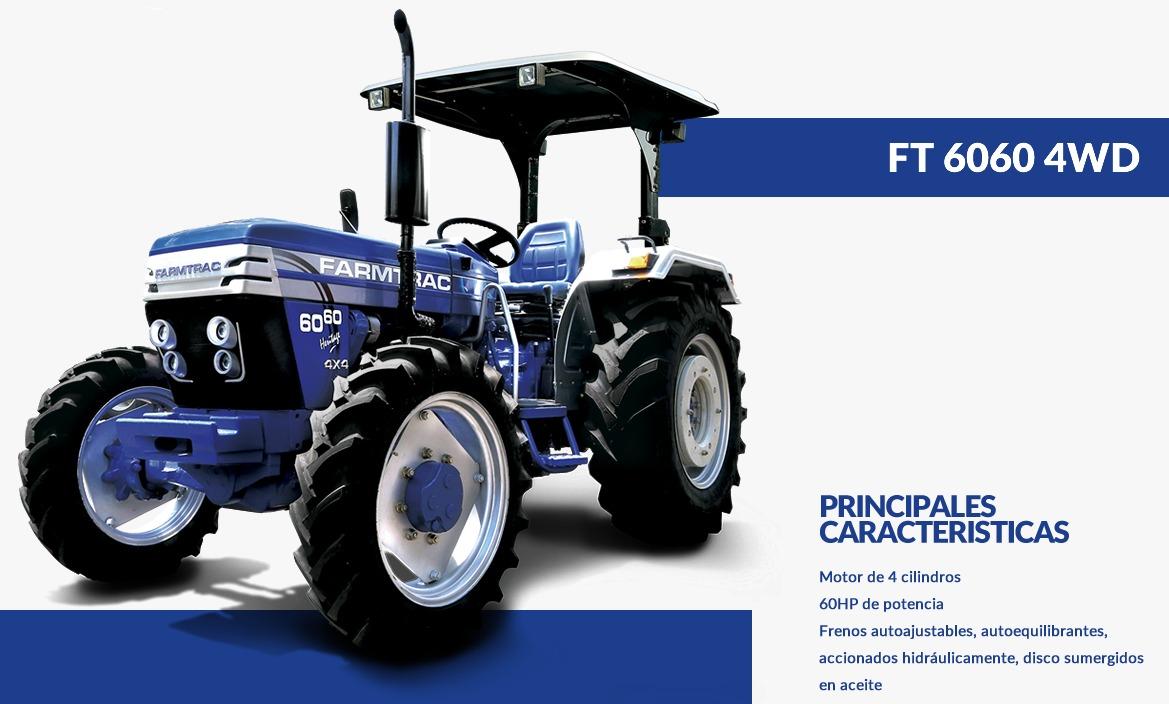 FARMTRAC-TRACTOR 6060 4WD