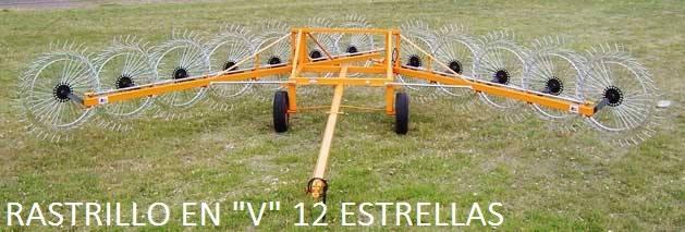 """ALSER ANCA - RASTRILLO EN """"V"""" 12 ESTRELLAS"""