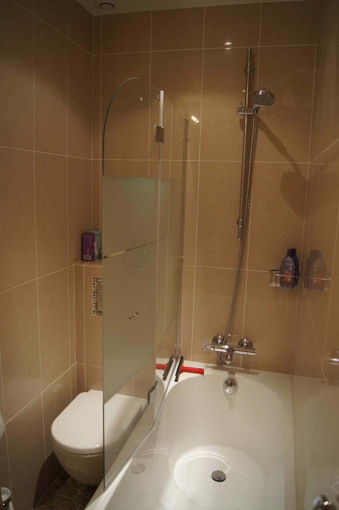 After renovation: bathroom