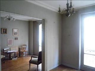 Before renovation: dining room