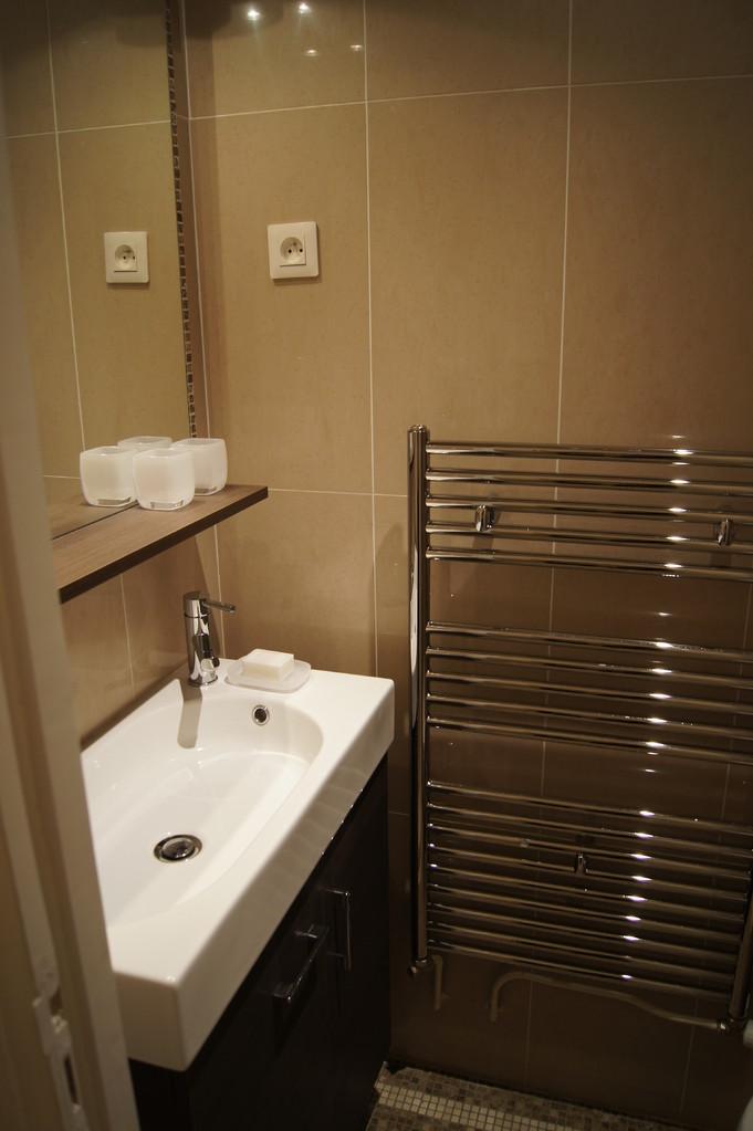 After renovation: toilet