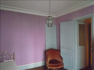 Before renovation: bedroom