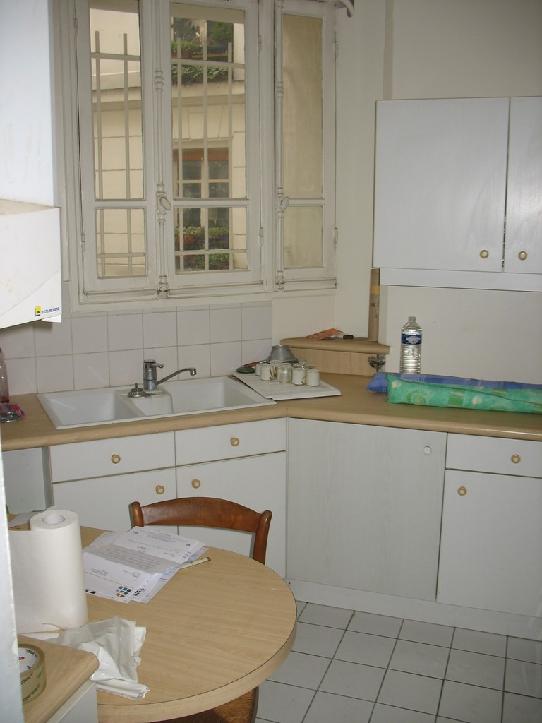 Before renovation: kitchen