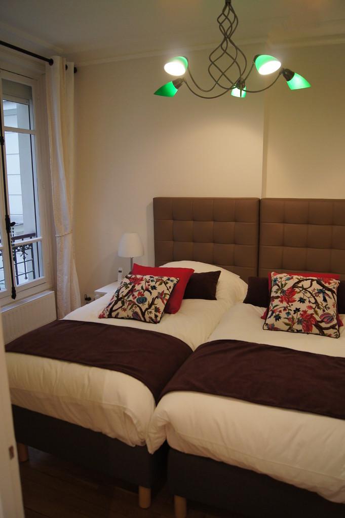 After renovation: bedroom