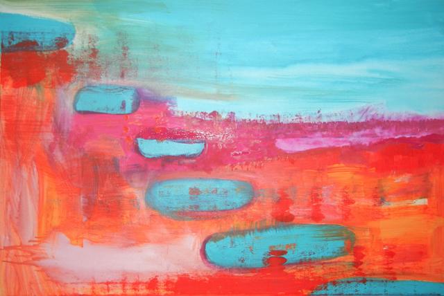 Journey, 2012. Acrylic on canvas, 120x80cm. (AVAILABLE) CARINA SCHUBERT