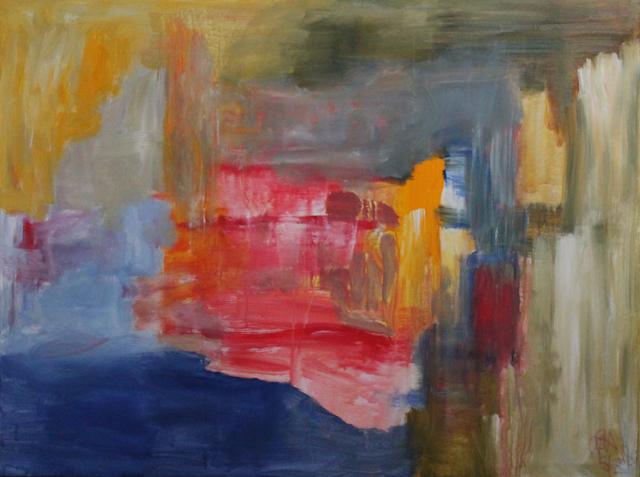 Fruitful Arrival, 2018. Acrylic on canvas, 160x120cm. (AVAILABLE) CARINA SCHUBERT