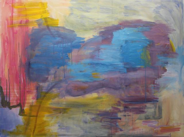 Rebirth, 2018. Acrylic on canvas, 160x120cm. (AVAILABLE) CARINA SCHUBERT