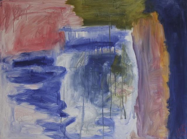 Passion, 2018. Acrylic on canvas, 160x120cm. (AVAILABLE) CARINA SCHUBERT