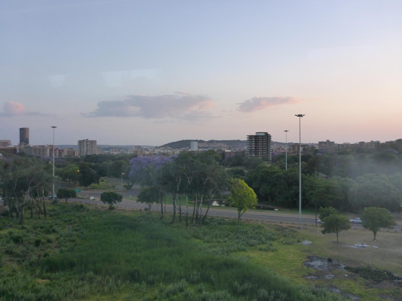 Johannesburg before Sunset