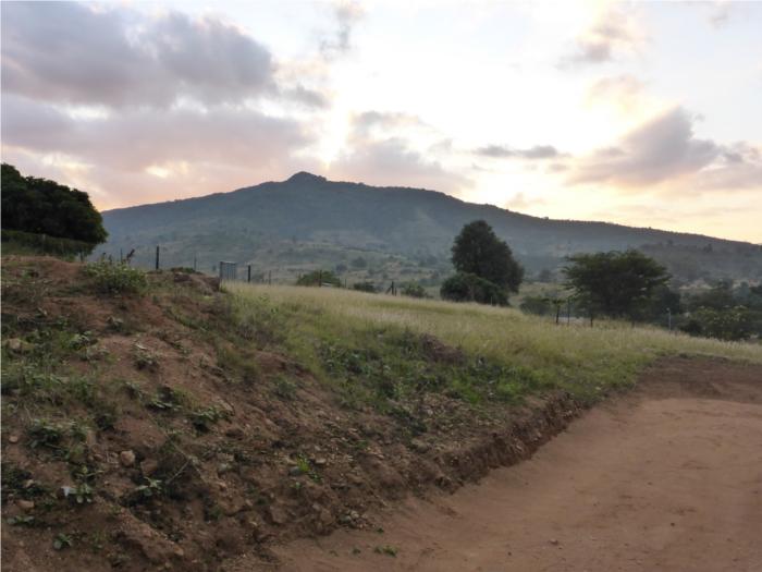 Auf der anderen Seite, verschwindet die Sonne dann langsam hinterm Berg..