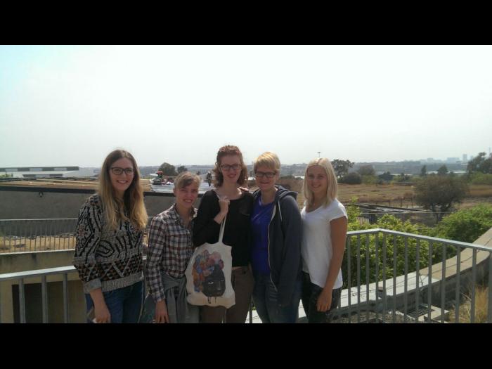 Lisa, Sünneke, Lara, Judith, Linda (from left)