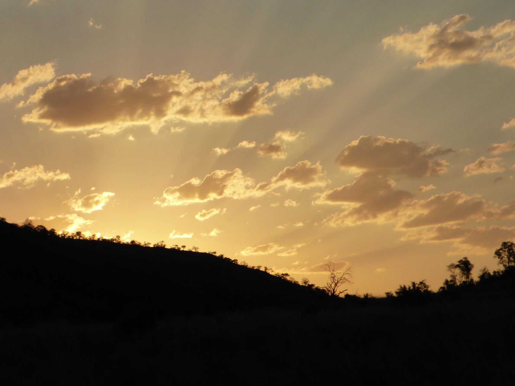 What a beautiful sundown *-*