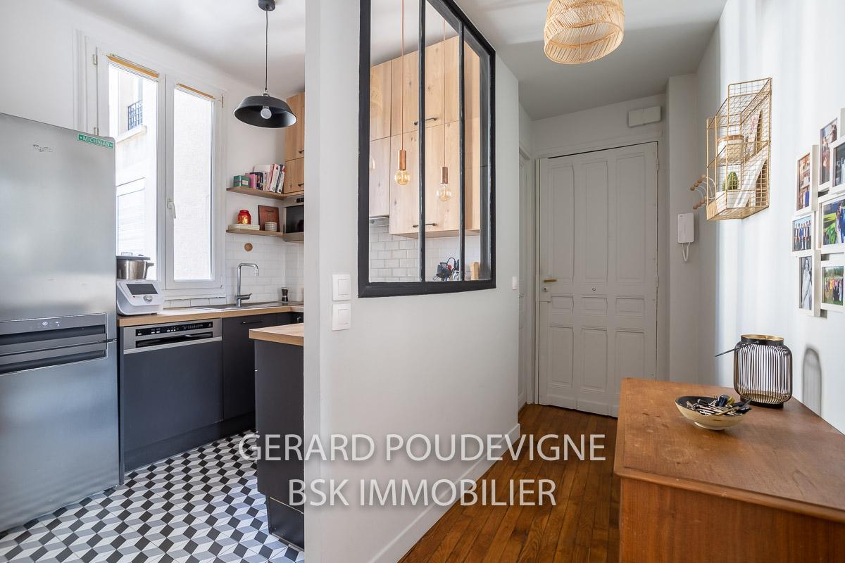 A vendre appartement 4 pièces, 3 chambres à Boulogne-Billancourt.