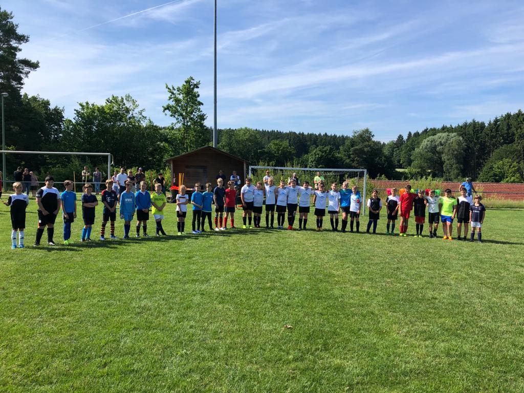 D-Junioren der SG Paar- und Eisbachtal - Saisonauftakt in Bachern