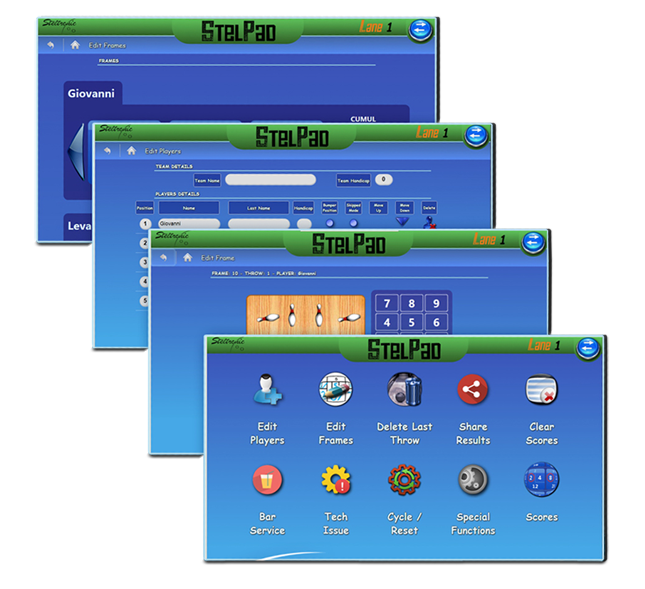 String Pinsetter SES Scoring System Bowling DuckPin Social StringPin