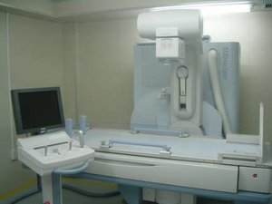 Stationary digital general-purpose X -ray fluoroscopy diagnostic equipment (DREX-WIN64, Toshiba Medical Systems)